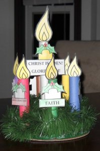 Orthodox Christian Advent Wreath