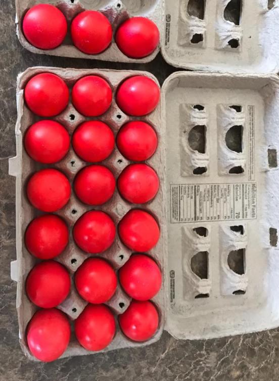 My eggs 2020